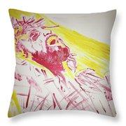Jesus Glory Throw Pillow