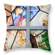 Jesus Is Chinese Throw Pillow