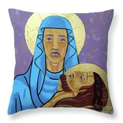 Jesus Is Taken Down From The Cross Throw Pillow