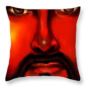 Jesus Is Watching Over Us Throw Pillow
