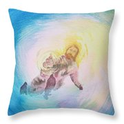 Take My Hand Throw Pillow
