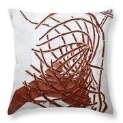Jesus Of Gethsemane - Tile Throw Pillow
