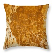 Jesus Of Gethsemane Throw Pillow