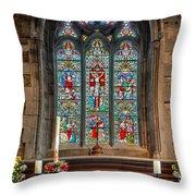 Jesus Of Nazareth Throw Pillow