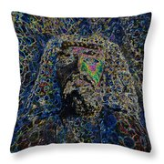 Jesus Of Nazareth Throw Pillow