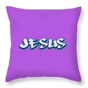 Jesus Tee Throw Pillow
