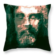 Jesus The Man Throw Pillow