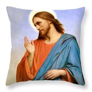 Jesus Weeping Over Jerusalem Throw Pillow