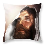 Jesus Wept Throw Pillow