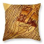 Jesuschrist - Tile Throw Pillow