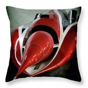 Jet Car Throw Pillow