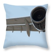 Jet Engine Detail Throw Pillow