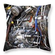 Jet Engine Throw Pillow