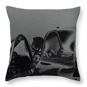 Jet Pilots Throw Pillow