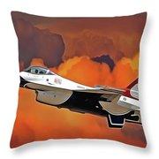 Jet Set Throw Pillow