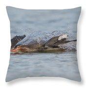 Jet Ski Throw Pillow