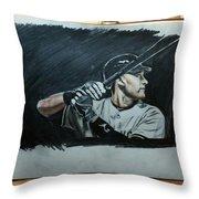 Jeter A Classic Throw Pillow
