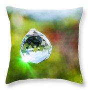 Jewel Hanging Outdoors  Throw Pillow