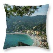 Jewel Of The Mediterranean Throw Pillow
