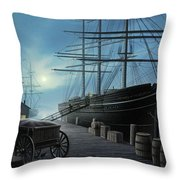 Jewel Of The North Throw Pillow