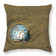 Jewel On The Beach Throw Pillow