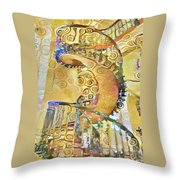 Jewel Staircase Throw Pillow