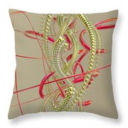 Jewelry On A Stick 6 Throw Pillow