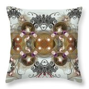Jewels2 Throw Pillow