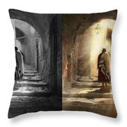 Jewish - Evening Prayers 1934 - Side By Side Throw Pillow