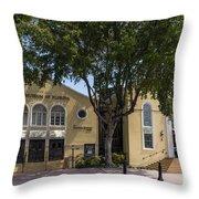 Jewish Museum Of Florida  Throw Pillow