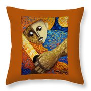 Jibaro Y Sol Throw Pillow