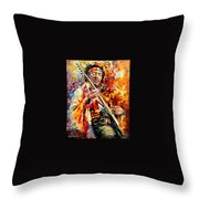 Jimi Hendrix  Throw Pillow