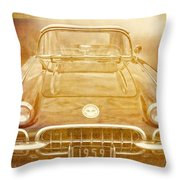Jimmy Bobs Treasure Throw Pillow