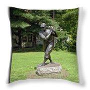 Jimmy Foxx Throw Pillow