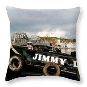 Jimmy L Throw Pillow