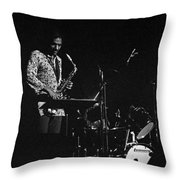 Jimmy Lyons Throw Pillow