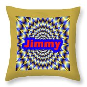 Jimmy Throw Pillow