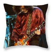 Jimmy Page-0021 Throw Pillow