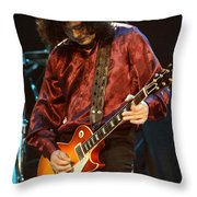 Jimmy Page-0022 Throw Pillow