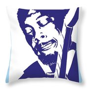 Jimmy Rogers Throw Pillow