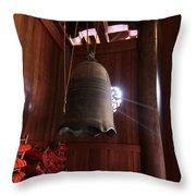 Jing'an Temple Throw Pillow