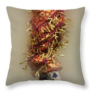 Pow Wow Jingle Dancer 6 Throw Pillow