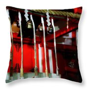 Jinja 2 Throw Pillow