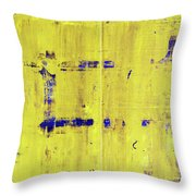 Jmb_yellow Throw Pillow