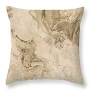 Joachim And The Angel Throw Pillow