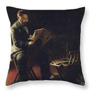 Joaquim Cabot I Rovira Throw Pillow