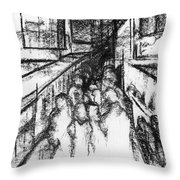 Frankenberg Material. 15 March, 2015 Throw Pillow