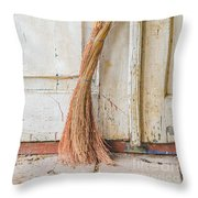 Job Done Throw Pillow