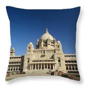 Jodhpur Bhawan Palace Throw Pillow