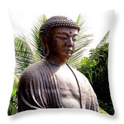 Jodo Mission Lahaina 7 Throw Pillow